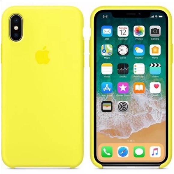 on sale ce6ef 8f74d Bright Yellow iPhone Case